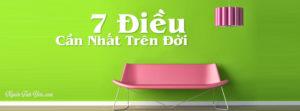 7 Dieu Can Nhat Tren Doi