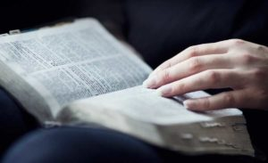 Bible Womans Hand