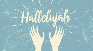 46945081 Hallelujah And Raised Hands